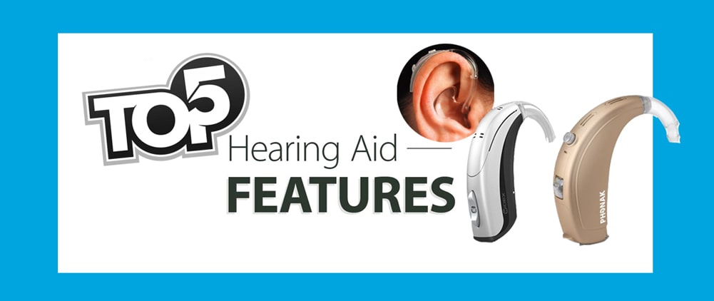5 Latest Features you should know all about hearing aids