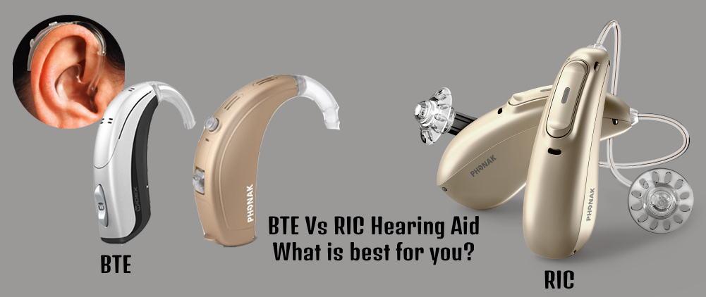 RIC vs BTE Hearing Aid: What's Best For You?